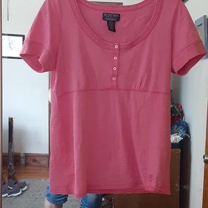 Polo jeans company womens pink shirt